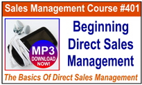 Beginning Direct Sales Management