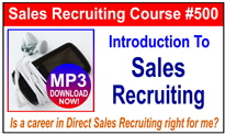 Introduction To Sales Recruiting