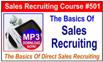 The Basics Of Sales Recruiting
